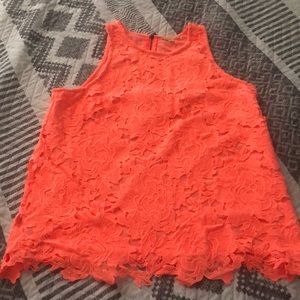 EUC Gianni Bini Lace Top Sz S